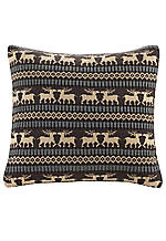 Brownstone Brown Deer Pillow 18-in. x 18-in.
