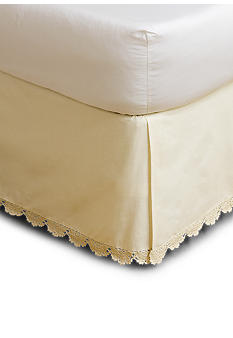 Home Accents Crochet Bedskirt