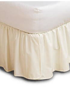 Home Accents 15-in. and 18-in. Ruffled Bedskirt