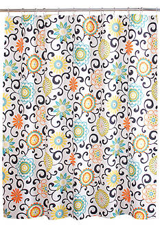 Waverly POM POM SHOWER Curtain 72x72