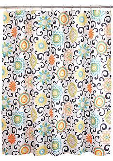 Waverly POM POM SHOWER Curtain 72x72