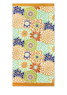 Waverly Button Blooms Beach Towel