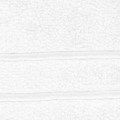 Bath Towels: White Mantle Lenox LENOX PLATINUM