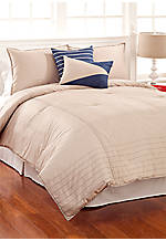 Crew Stone Full/Queen Comforter Set 96-in. x 86-in. with Shams 20-in. x 26-in.