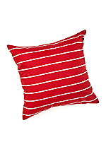 Crew Red Decorative Pillow 18-in. x 18-in.
