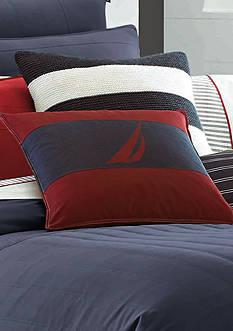 Nautica Mainsail J Class Pillow