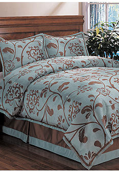 Home Fashion Int'l Belle Floral 4-piece Bedding Set - Online Only