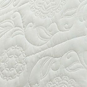 Vue Bed & Bath Sale: Ivory Vue VUE KING BARCELONA DVT SET IVORY