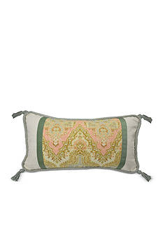 Waverly GRACE GARDEN PIECED OBLONG REVERSIBLE PILLOW