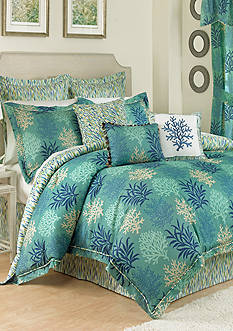 Waverly MARINE LIFE REVERSIBLE KING CSET