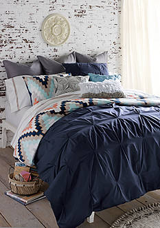 Blissliving HOME BL HARPER F/Q NAVY DUVET SET
