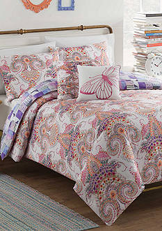 Vue Aria 5-Piece Reversible Comforter Set