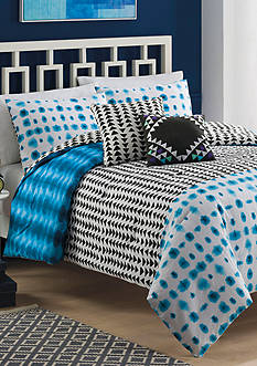 Vue Zazu 5-Piece Reversible Comforter Set