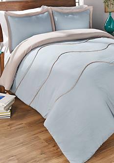 Vue Sapphire 2 Piece Comforter Set - Mushroom