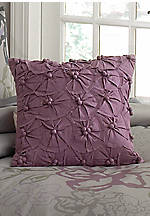 Anastasia Purple Tufted Euro Sham 26-in. x 26-in.