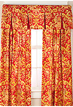 Archival Urn Inverted Pleated Valance 50-in. x 18-in.