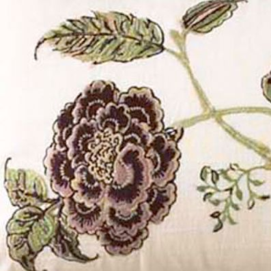 Decorative Pillows: Plum Waverly ASIAN MYTH