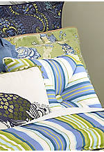 Casablanca Stripe Pillow - 18-in.x 18-in.