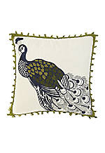 Casablanca Embroidered Pillow - 16-in. x 16-in.