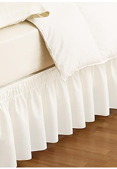 Ellery Homestyles EasyFit Wrap Around Solid Ruffled Bed Skirt - Online Only