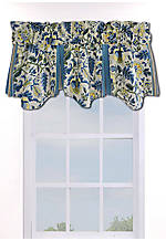 Imperial Dress Porcelain Valance 50-in. x 18-in.