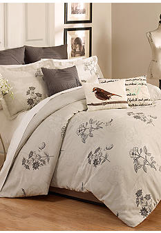 Vue Scripted 3-piece Comforter Set - Online Only