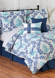 Home Accents 6PC BELMONT TURNSTYLE COMFORTER SET - KING