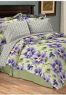 Home Accents&reg; Delia Reversible 8-piece Bedding Ensemble<br>