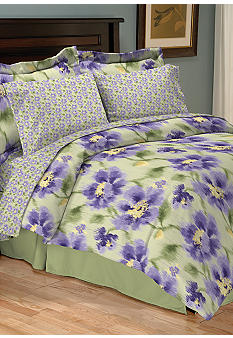 Home Accents Delia Reversible 8-piece Bedding Ensemble
