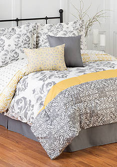 Home Accents 6PC JOANNA TURNSTYLE COMFORTER SET - KING