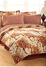 Josephine King Comforter Set 102-in. x 90-in. with Shams 21-in. x 37-in.