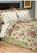 Home Accents® Lindsay Reversible 8-Piece Bedding Ensemble