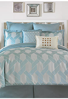 Madison Home Tahiti Blue 8-piece Bedding Set