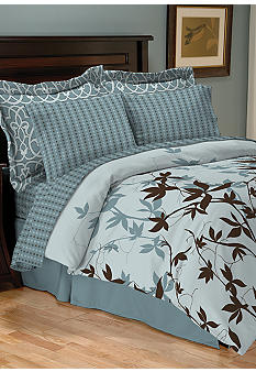 Sander Sales Andora 8-Piece Bedding Ensemble - Online Only