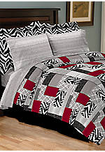 Nairobi Queen Bedding Ensemble 90-in. x 90-in.