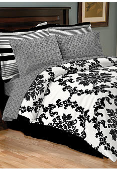 Sander Sales Palermo 8-Piece Bedding Ensemble - Online Only