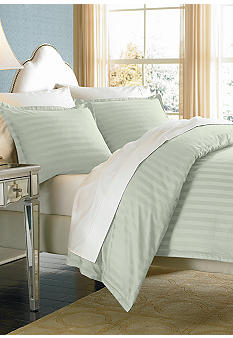 Biltmore For Your Home Damask Stripe Duvet Set