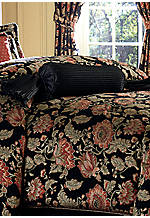 Genoa Neck Roll Pillow with Side Tassels 8-in. x 20-in.