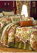 Festival Floral Chintz Queen Comforter Set 92-in. x 96-in.