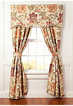 Festival Floral Chintz Scalloped Valance 21-in. x 54-in.