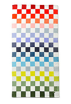 Lacoste Multi Checker Beach Towel