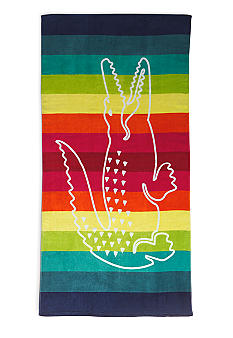 Lacoste Crocostripe Multi Beach Towels