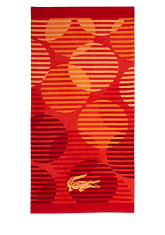 Lacoste Fizzy Orange Beach Towel
