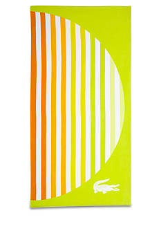 Lacoste Sunset Yellow Beach Towel