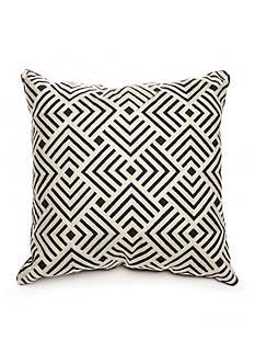 Biltmore Ramble Square Crewel Embroidery Decorative Pillow