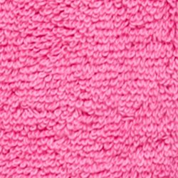 Solid Towels: Pink Miami Home Accents HYGRO CTN BATH