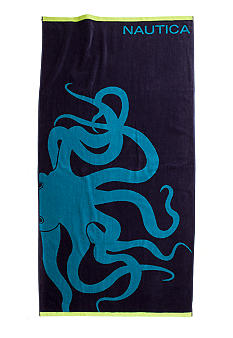 Nautica Octopus Beach Towel