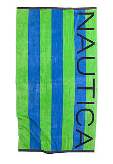 Nautica Stripe Beach Towel