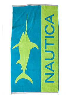 Nautica Swordfish Beach Towel