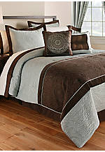 Valentino Queen 8-piece Comforter Set 90-in. x 94-in.